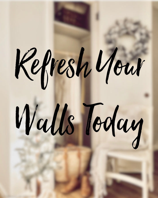 Refresh Your Walls Today