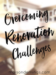 "Jeffrey Court Renovation Challenge - Blog Post 4 ""Overcoming Renovation Challenges"""