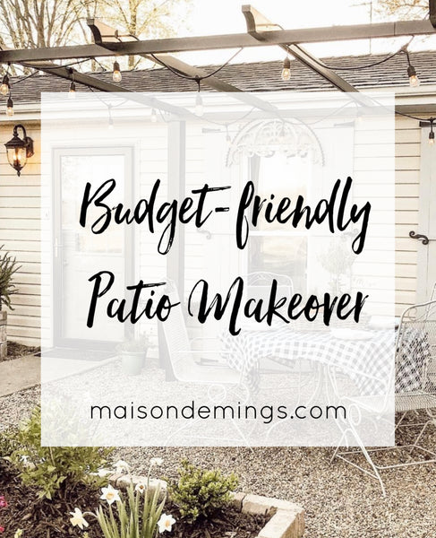 Budget-friendly Patio Makeover