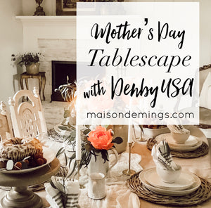 Mother's Day Tablescape w/ Denby USA
