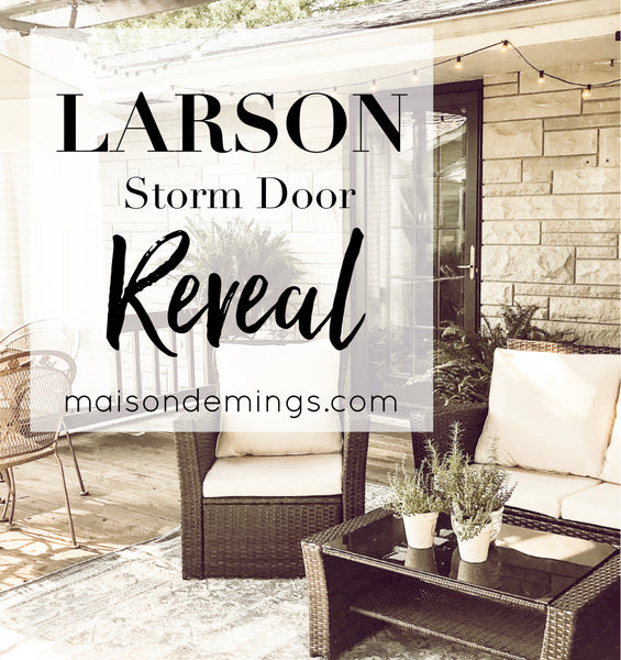LARSON Storm Door Reveal