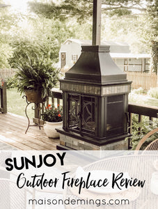 Sunjoy Outdoor Fireplace Review