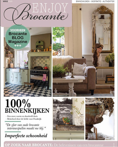 Enjoy Brocante Magazine Feature