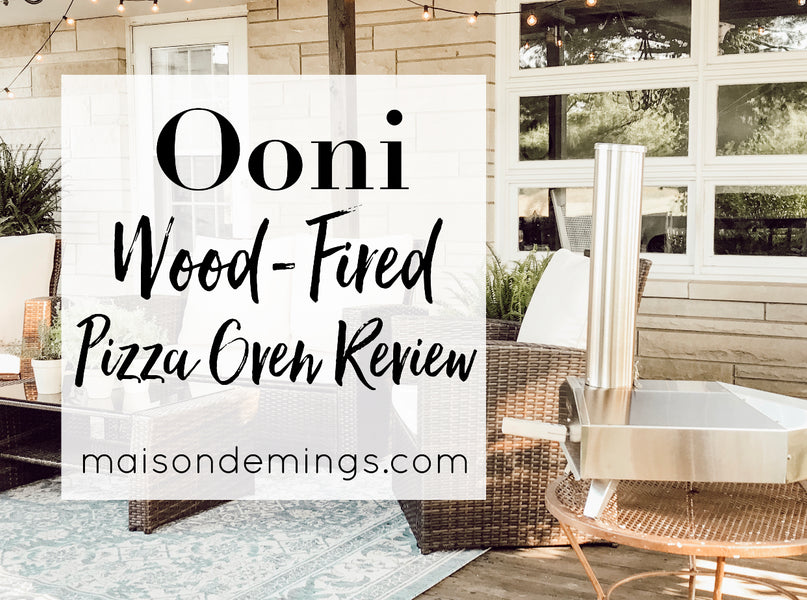 Ooni Wood-Fired Pizza Oven Review