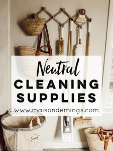 Neutral Cleaning Supplies