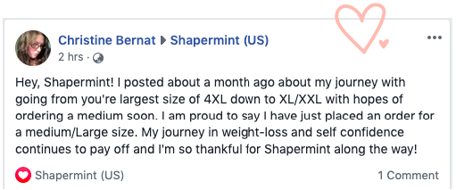 Comments about Shapermint