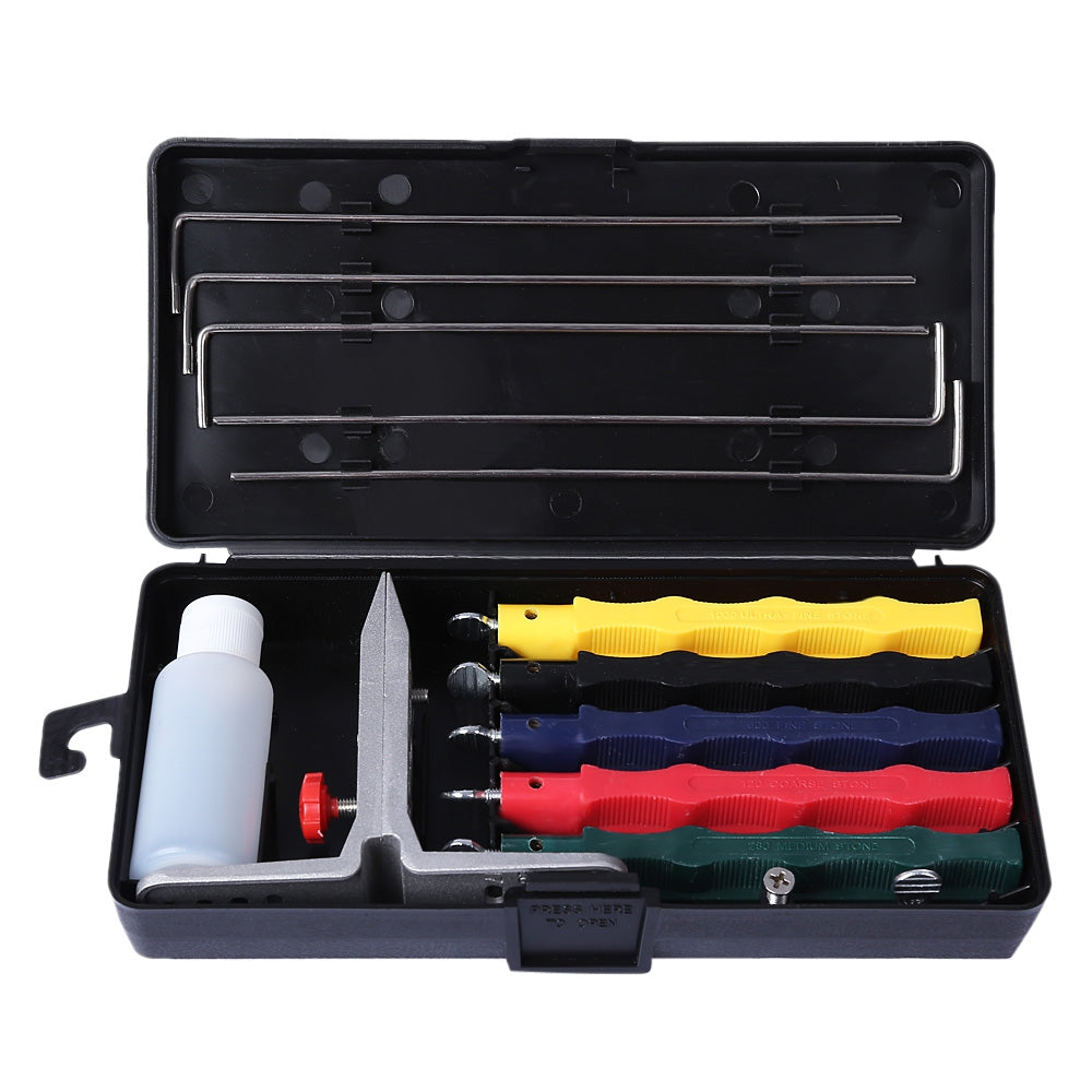 Professional Kitchen Knife Sharpener Kit Shopjeff