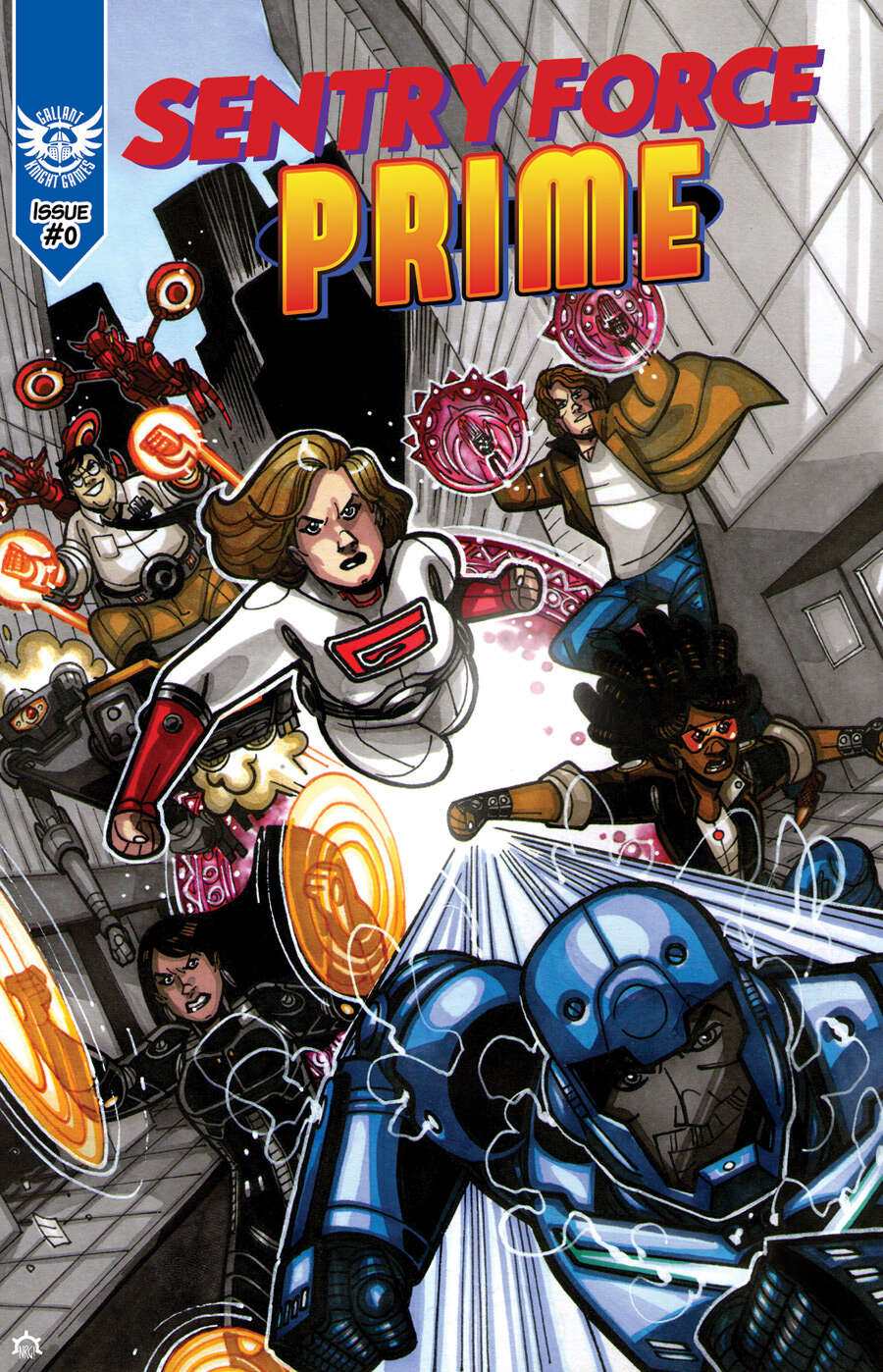 Sentry Force Prime: Issue #0