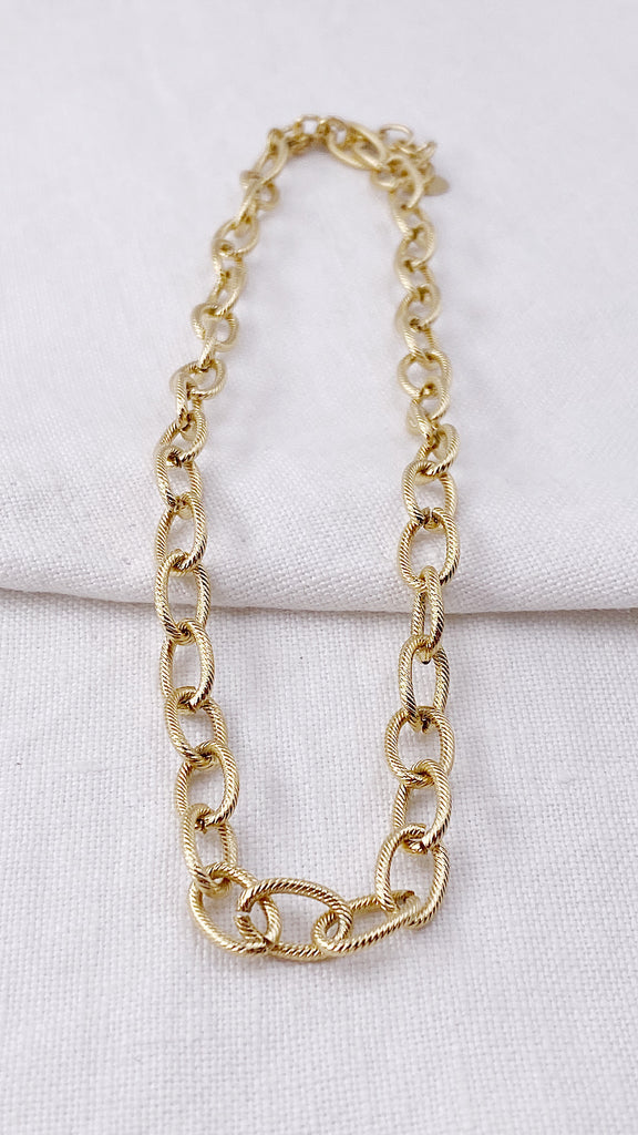 Collier maille NOA