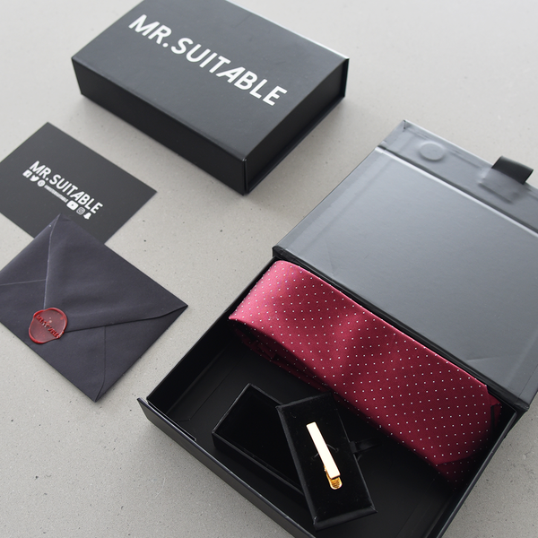 The Essentials - Gift Box (Tie/Tie Bar Combo)