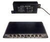 POES-8-7 PoE Switch with Power Supply