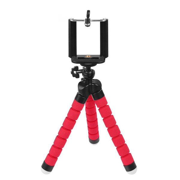 Mini Flexible Tripod with Phone Holder for iPhone6s, 7, Xiaomi, Samsung, HTC