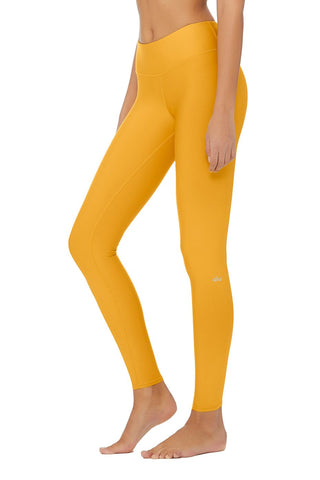 Alo Highwaist Airlift Legging Tuscan Sun