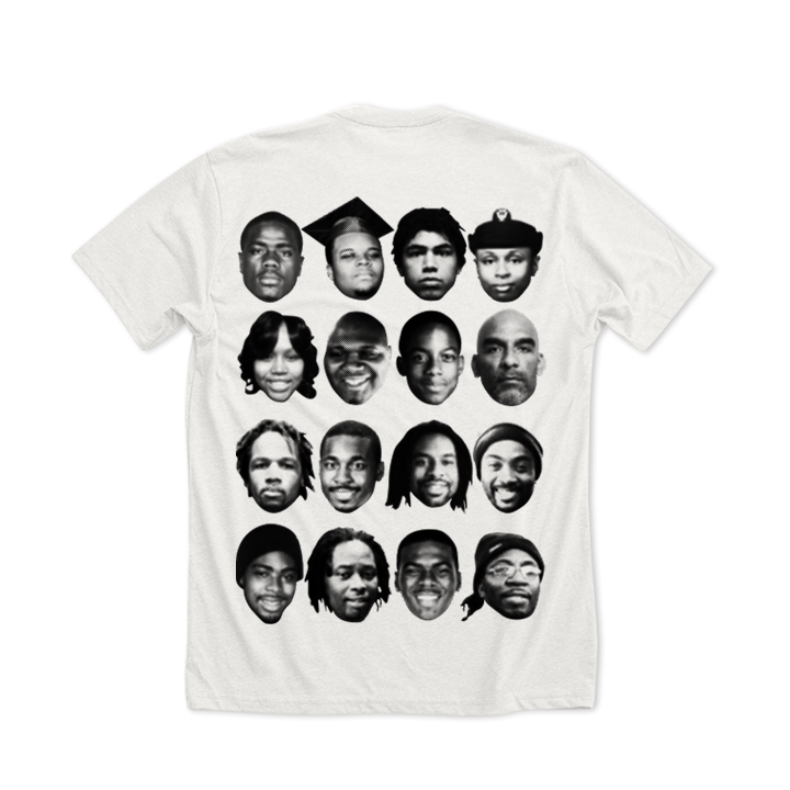 MEDIA GALLERY: 'names are not enough' children's tshirt (limited edition)
