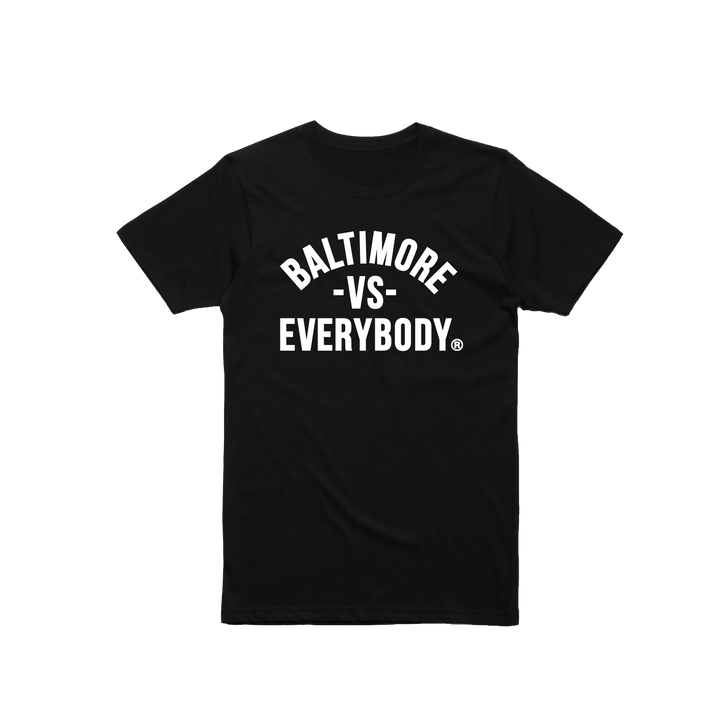 MEDIA GALLERY: baltimore vs everybody tshirt