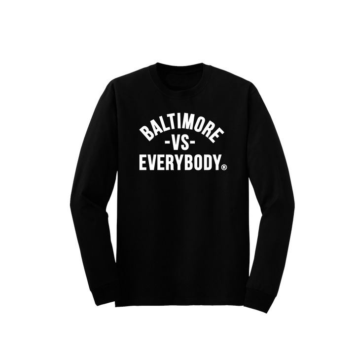 MEDIA GALLERY: baltimore vs everybody longsleeve