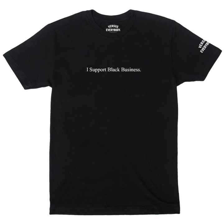 Black Business Tee