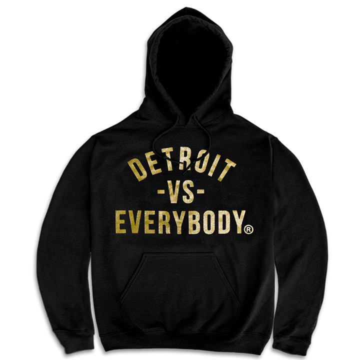 DVE Classic Hoodie Gold