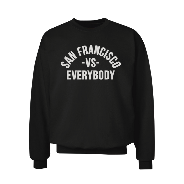 MEDIA GALLERY: san francisco vs everybody crewneck