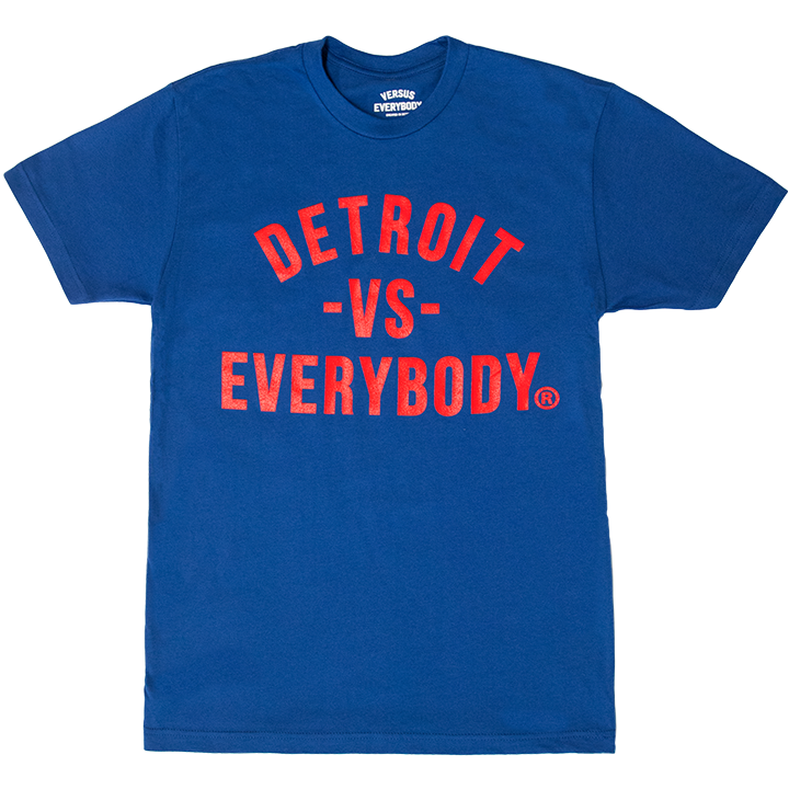 DVE Classic RoyalBlue-Red Tee