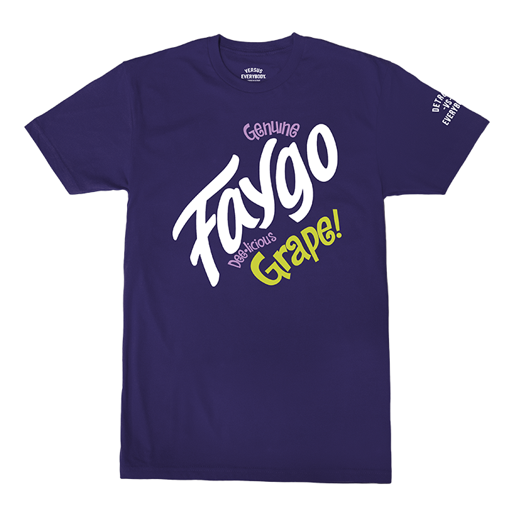 Faygo Grape Tee