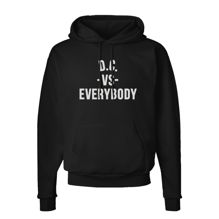 MEDIA GALLERY: dc vs everybody hoodedsweatshirt