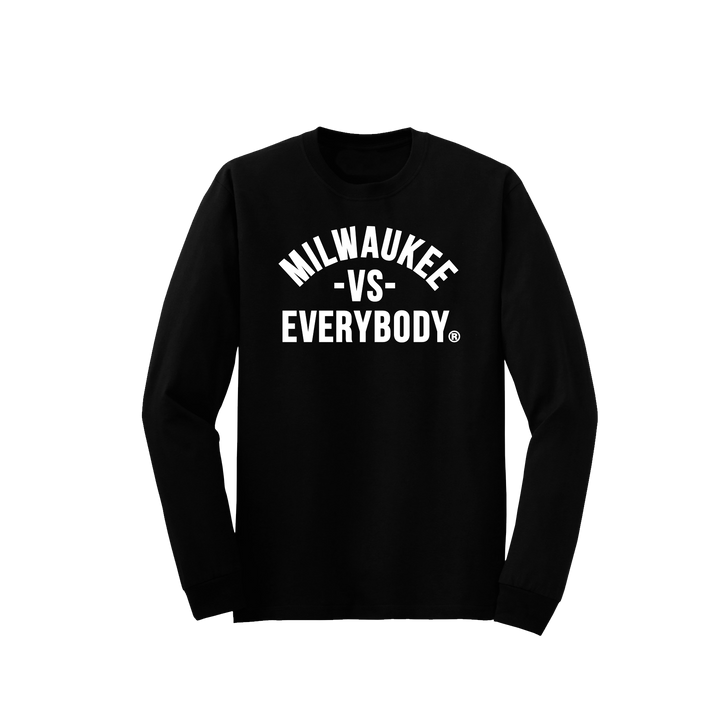 MEDIA GALLERY: milwaukee vs everybody longsleeve