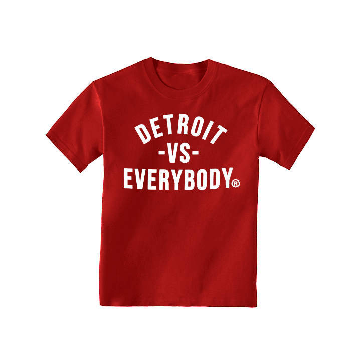 DVE Classic Red-White Kids Tee