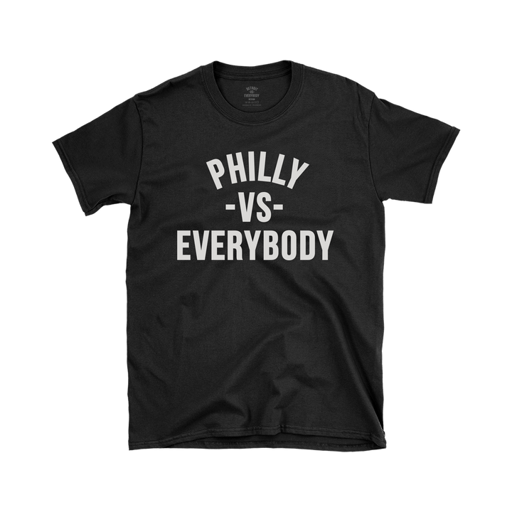 MEDIA GALLERY: philadelphia vs everybody tshirt