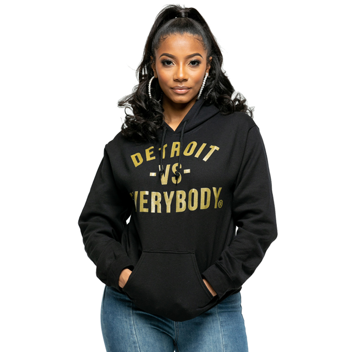 MEDIA GALLERY: dve classic hoodie gold