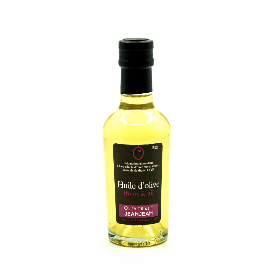 Olive oil with Thyme and garlic (25cl)