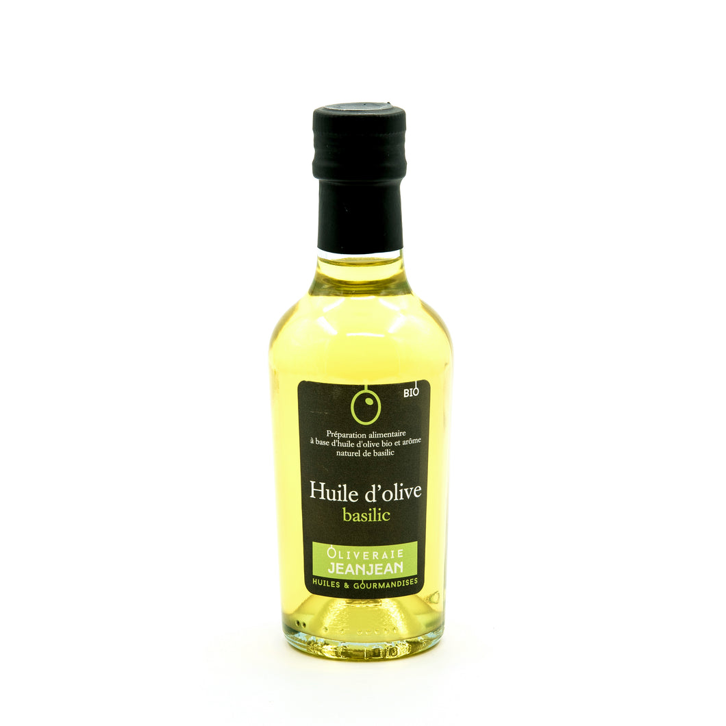 Olive oil with basil (25cl)