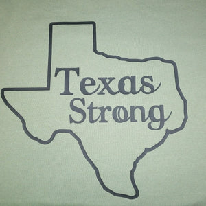 Unisex 3/4 Sleeve Baseball Tee TEXAS STRONG