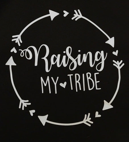 Vinyl Decal RAISING MY TRIBE