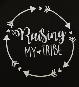 Women's Racerback Tank Top RAISING MY TRIBE
