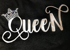 Women's Racerback Tank Top QUEEN