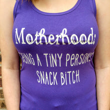 Women's Short Sleeve Scoop Neck Tee SNACK BITCH