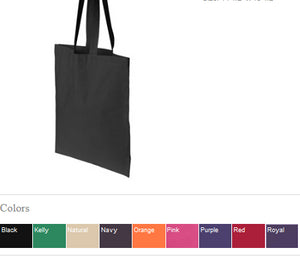 Canvas Tote Bag WE'RE ALL MAD HERE