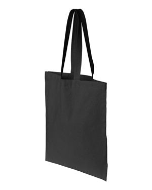 Canvas Tote Bag COURAGEOUS AND STRONG