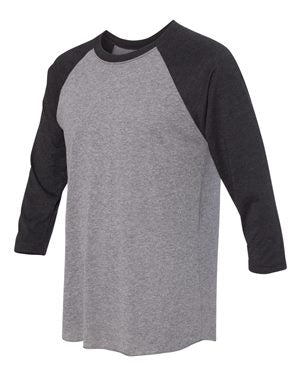 Unisex 3/4 Sleeve Baseball Tee TRAIN LIKE A BEAST LOOK LIKE A BEAUTY