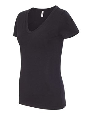 Women's Short Sleeve V-Neck Tee SUCK IT UP BUTTERCUP