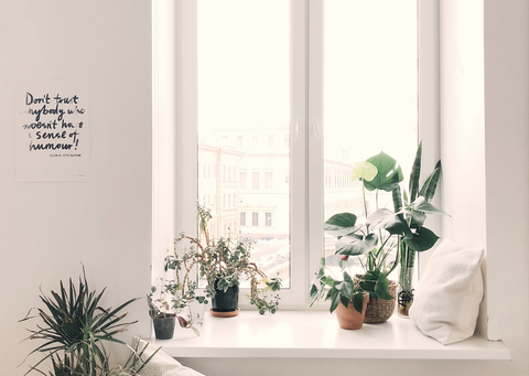 Create a little hygge spot at home just for you to chill and enjoy the sun