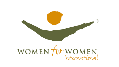 Women for Women Internation the charity to empowers women through human rights aware and vocational training to help them get sustainable lives and livelihoods