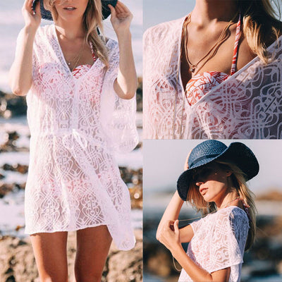 Lace Swimwear Cover Up
