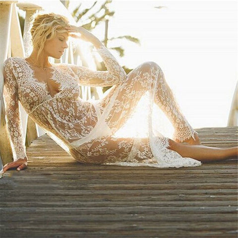 Beach Lace Cover Up