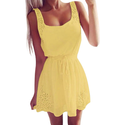 Sleeveless Sun Dress