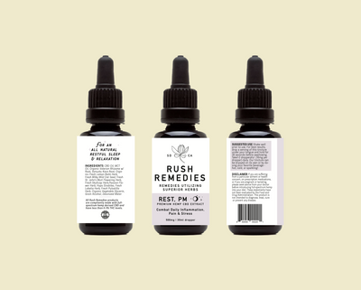 Rush Remedies Rest PM CBD Tincture