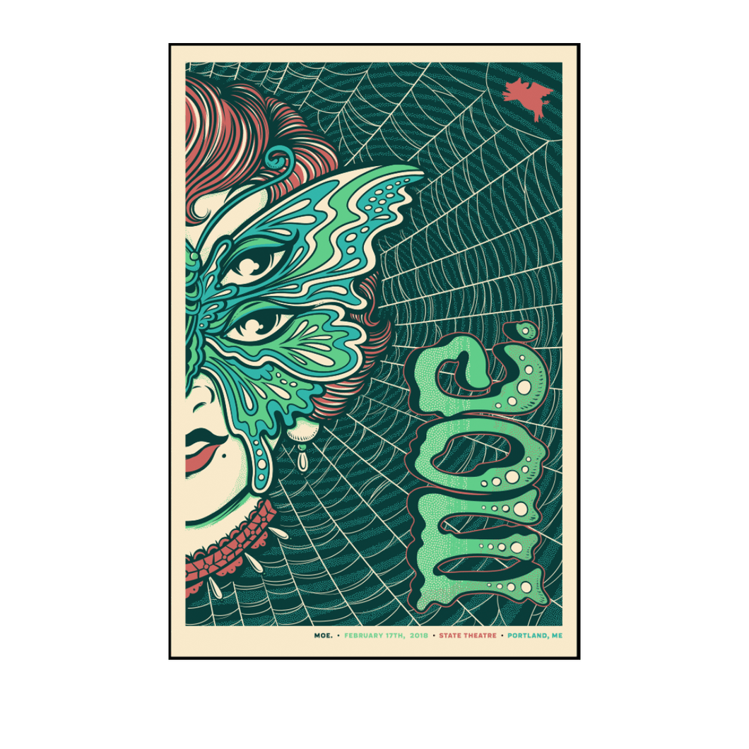 moe. - Portland Poster Night 2 (Feb 17, 2018)