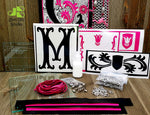 Heavy Metal Monograms Class Kit