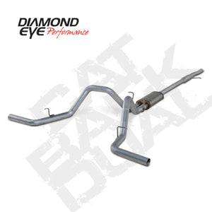 Diamond Eye KIT 3in CB DUAL GAS SS CHEVY/GM 4.3L 5.3L 1500